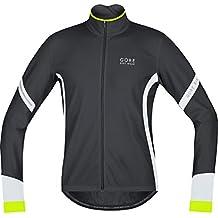 Gore Bike Wear Power 2.0 Termo - Camiseta de ciclismo para hombre, color blanco y negro talla XXL