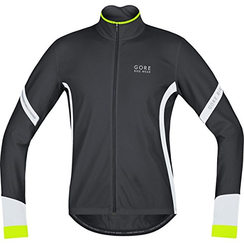 GORE BIKE WEAR POWER 2 0 TERMO   CAMISETA DE CICLISMO PARA HOMBRE  COLOR BLANCO Y NEGRO  TALLA M