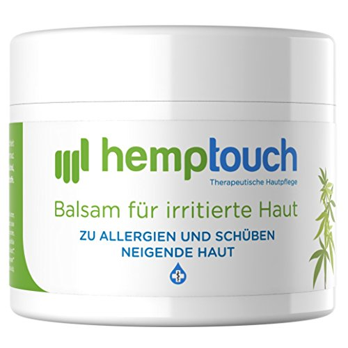*Hanf Creme – 40-60 mg CBD – Cannabidiol Hanföl Creme für irritierte Haut – biologisch angebauten Cannabis – 50 ml*