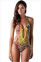Gaobei Women's Bandage Bikini Push-Up One Piece Monokini Beach Swimwear