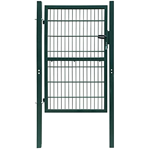 Cancello Valla 2d (individual) verde 106x 210cm
