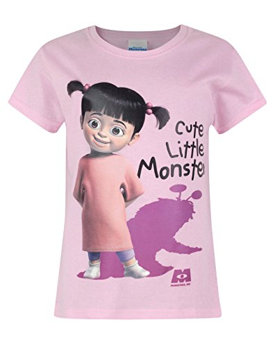 Image of Official Monsters Inc Boo Cute Little Monster Girl's T-Shirt (7-8 Years)