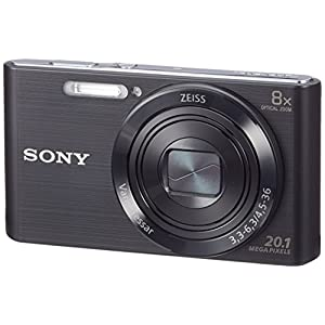 Sony-DSC-W830-Digitalkamera-201-Megapixel-8x-optischer-Zoom-68-cm-27-Zoll-LC-Display-25mm-Carl-Zeiss-Vario-Tessar-Weitwinkelobjektiv-SteadyShot