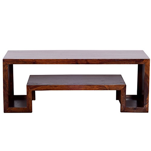 Ringabell Solid Wood TV Stand (Mahogany Teak)