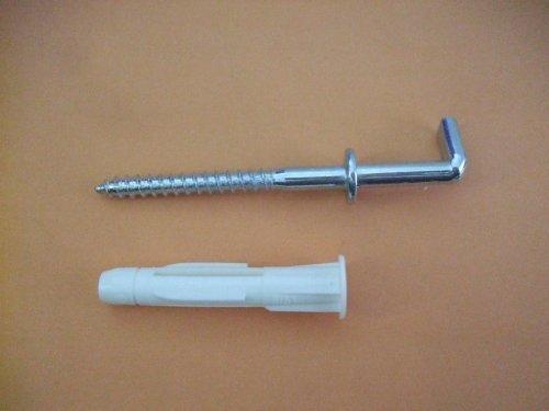 Hakendübel PIRAT H-D Form 22, 4 Stück, DübelDm 8mm