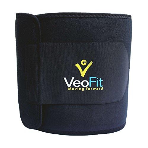 #Der VEOFIT Schwitzgürtel für den Bauch: Premium-Bauchweg-Gürtel, für Mann & Frau/ XXXL Größe/ Macht Sie schlanker, kräftigt und wirkt entwässernd#