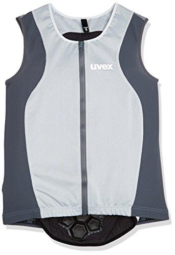 Uvex Damen Back Connected Skiprotektor, Light Grey, M