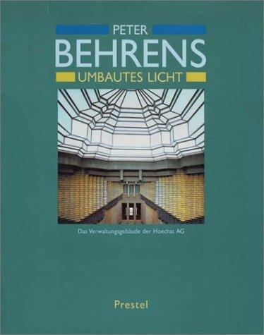 Peter Behrens: Umbautes Licht Buch-Cover
