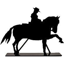 """Silueta de hierro """"A caballo"""""""