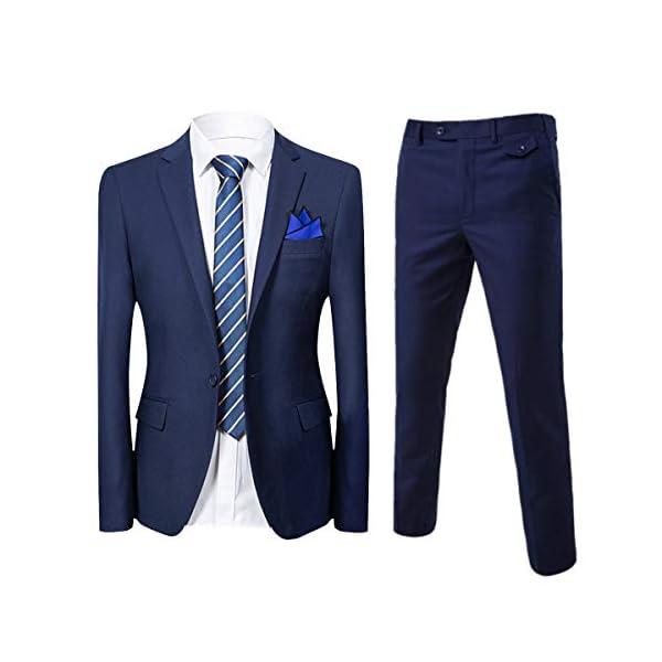 Cloudstyle Traje suit hombre 2 piezas chaqueta chaleco pantalón traje al estilo occidental