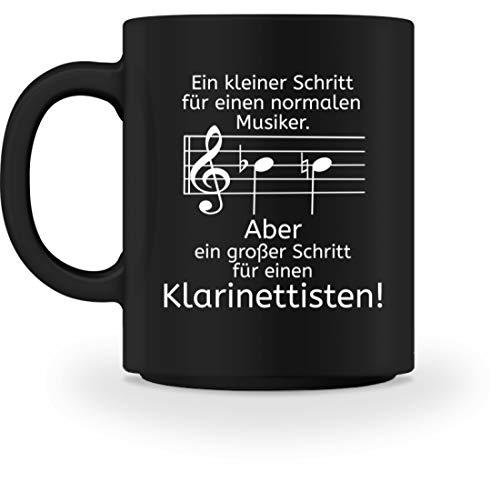 Klarinetten Shirt perfekt als Geschenk für jeden Klarinettisten - Tasse -M-Schwarz