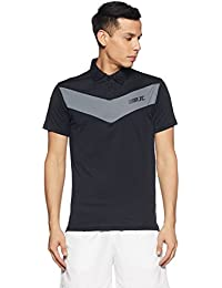 RJCo Men's Solid Regular Fit Polo
