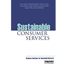 Sustainable Consumer Services: Business Solutions for Household Markets
