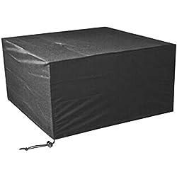 Ruikey Funda para muebles de jardín cubo prueba de polvo impermeable Cubierta de los muebles del jardín cubierta 120 × 120 × 74cm