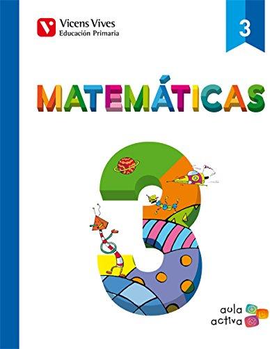 Matematicas 3 (3.1-3.2-3.3) Aula Activa - 9788468220505