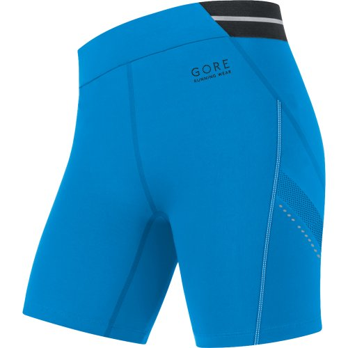 Gore Running Wear Women's Air 2.0 Lady Tights Short, Waterfall Blue, X-Large