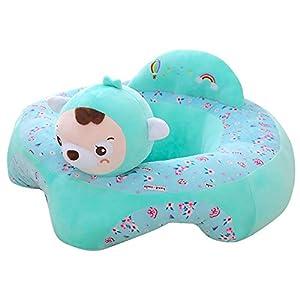 Baby Sofa Sitzbezug Cartoon Plüsch Sitz Soft Sofa abnehmbar Sofa Stuhl waschbar Baby Unterstützung Sitz Plüsch Spielzeug…