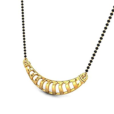 aea2f6a92 Candere By Kalyan Jewellers 22k (916) Yellow Gold Josie Tanmaniya ...