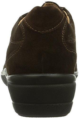 Ganter  HILDE, Weite H, Derbies à lacets femme Marron - Braun (espresso/mocca 2029)