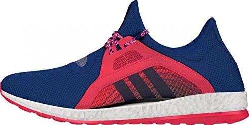 adidas Pureboost X, Chaussures de Running Entrainement Mixte Adulte Violet / rouge (violet brut (raw purple) / violet brut / rouge impact)