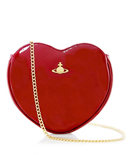Vivienne Westwood Accessories Da Donna Mirror Ball Pochette Bordeaux Unica Taglia