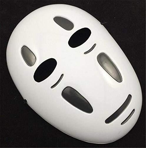 VAWAA Stil Spirited Away No-face Maske Gesichtslos Cosplay Helm Fancy Anime Halloween Party Kostüm Japanische Masken Spielzeug