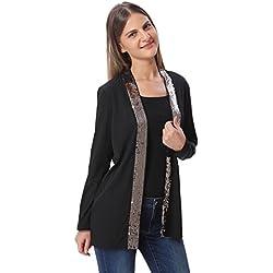 Vero Moda Women's Casual Blazer (_5713020781778_Black_Small_)
