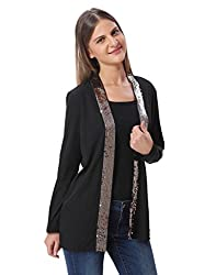 Vero Moda Womens Casual Blazer (_5713020781778_Black_Small_)