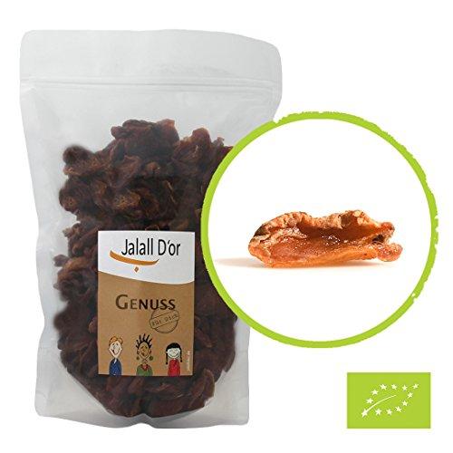 Wilde Aprikosen getrocknet bio | 1000 g | Rohkostqualität | aromatisch süß-sauer | handverlesene Trockenfrüchte | sonnengetrocknet | ungeschwefelt | Jalall D\'or