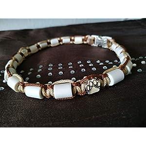 EM-Keramik Halsband Hund, individuelle Maßanfertigung. Testen Sie unseren Konfigurator und stellen Sie sich Ihr Wunschhalsband selbst zusammen. Beschreibung beachten!