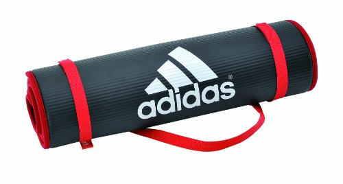 adidas-tapis-dentrainement-noir-rouge