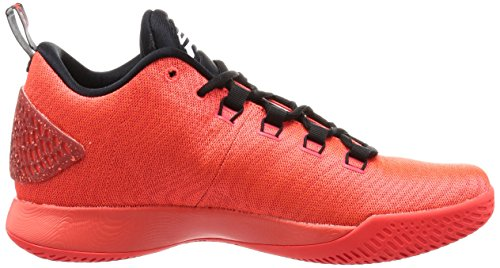 Nike 854294-600, espadrilles de basket-ball homme Rouge