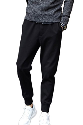 Minetom Uomo Moda Pantaloni Casual Leisure Attività Commerciale Slim Fit