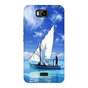 Impressive Boat Guy Back Case Cover for Honor Bee