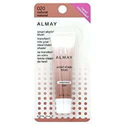 Almay Smart Shade Blush, Natural 020, 0.5-Ounce Tubes (Pack of 2)
