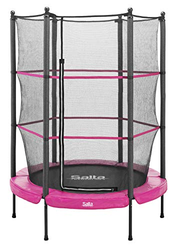 Salta Junior Trampolin - rund - Ø140cm - Pink