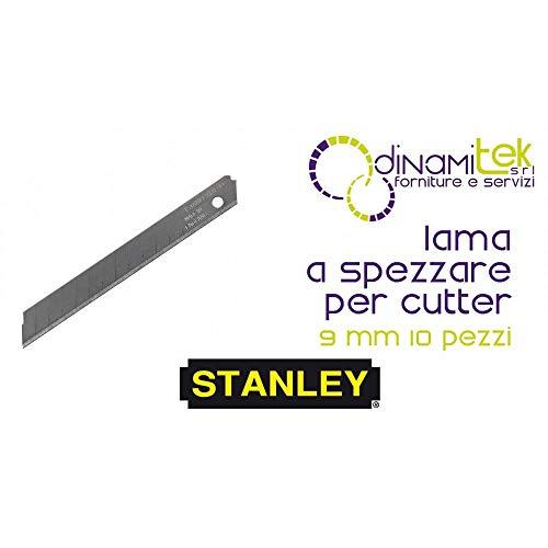STANLEY Abbrechklinge #1-11-300, 10St/Pk. 9 x 85 x 0,43 mm -