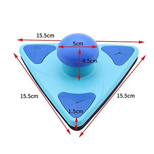 TARTIERY Limpiador De Ventanas Magnético Forma Cuadrada Limpiador De Cristales Magnético De Doble...