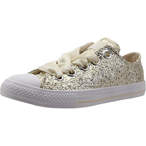 525a077949 Converse Chuck Taylor All Star Big Eyelets Ox Natural Ivory Synthetic 34 EU
