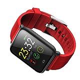 Aiming Bluetooth IP67 a Prueba de Agua del Ritmo cardíaco Inteligente Aptitud del Reloj Pantalla táctil de TFT la Pulsera del Reloj del Deporte