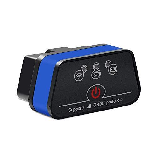 ZZKJTYMZZKJ Auto Scanner Diagnose Universal,WiFi-Version Obd2-Codeleser, Unterstützt Obdii-Protokoll, Unterstützt Android, Ios Und Windows,B
