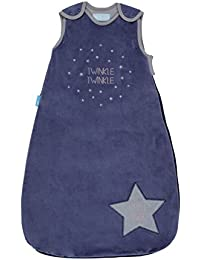 The Gro Company Twinkle Twinkle Velour Grobag Baby Sleeping Bag, 6-18 Months, 3.5 Tog