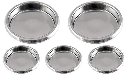 Gas N Pow3r x5 Puly Caff Blindfilter Blende Scheibe Edelstahl 58 mm für rückspülende kommerzielle...