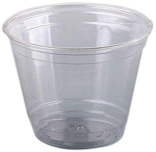 100 x Smoothie / Früchte Becher / Plastik Becher 200 ml | Ø 95 mm
