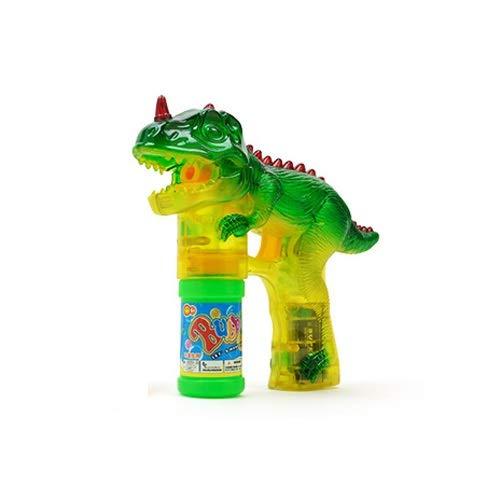 asen-Maschine mit beleuchtetem elektrischem beleuchtetem Musik-transparenten Dinosaurier-Blasen-Maschine ( Color : B ) ()