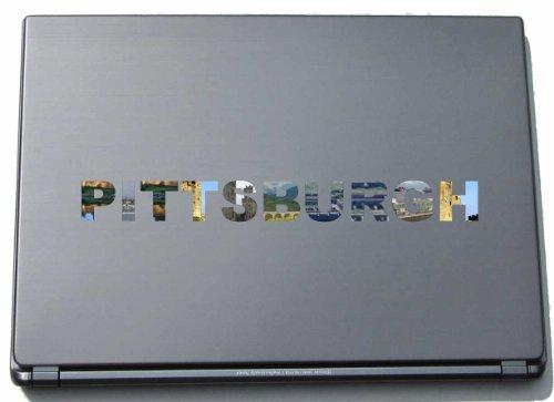 Pittsburgh Laptop Aufkleber Laptop Skin 210 mm mit Sehenswürdigkeiten