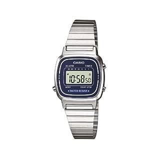 Casio la670wea La670Wega-2Ef Reloj (Silver)