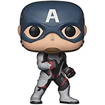 Funko Avengers End Game (Infinity War 2) - Captain America in Team Suit Pop Bobblehead Figure