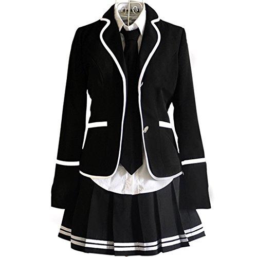 URSFUR Mädchen Japan Kostüm Langärmelige Anzug Cosplay Uniform Anime Uniform - Stil 13-XL