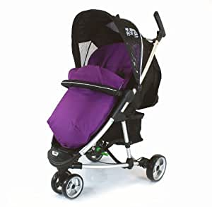 Deluxe Universal Footmuff to fit Baby Jogger Range - PLUM (PURPLE)
